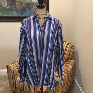 Thomas Dean Long Sleeve Shirt